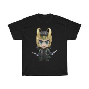 Loki Chibi T-Shirt S-5XL Men Women Unisex