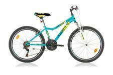 24 Zoll Kinder Jungen Mädchen MTB Kinderfahrrad Mountainbike Fahrrad Rad Bike Bl
