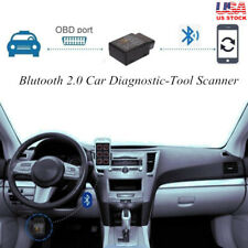 Mini Bluetooth OBD2 Car Fault Scanner Automotive Diagnostic Chip V02H2-1 V1.5