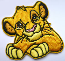 Simba The Lion King Iron Sew On Embroidered Patch Badge Kids Boys Clothing