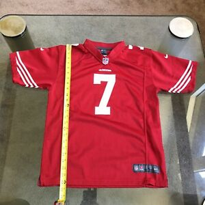 NIKE NFL SF 49ERS COLIN KAEPERNICK LEGEND AND ACTIVIST JERSEY YOUTH L ADULT XXS