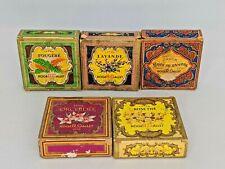 Vintage Set Roger & Gallet Paris France set of 5 Guest Soaps .9 oz Each