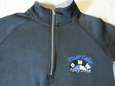 BMW FINGER LAKES RALLY 2008 CHAMPION BRAND PULLOVER ZIP NECK JACKET-SM CAR RARE