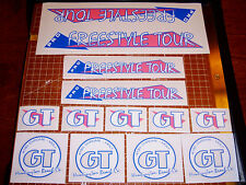 1986 GT BMX Pro Freestyle Tour, restoration decals on clear PINK BOLD, VDC