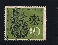 German 1959 The 400th Anniversary of the death of ADAM RIESE Current Value 28.51