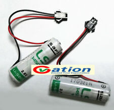 for 1pcs NEW for SAFT LS14500 3.6V 2600MAH AA Battery with plug