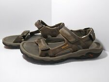 Teva Hudson Suede Sport Hiking Tan Sandals Shoes Mens Size 12