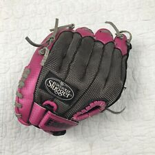 "Louisville Slugger Diva 10 1/2"" Girls Pink Baseball Glove RHT EZ-LOC Diva Series"