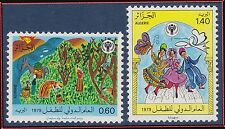 ALGERIE N°703/704** Art, Dessins d'enfants, 1979 Algeria children's drawings MNH