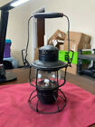 VINTAGE CPR HIRAM L. PIPER CO. LTD RAILROAD OIL LAMP w/ ORIGINAL GLASS GLOBE(RR)