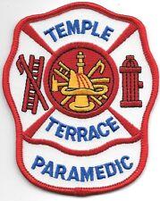 "Temple Terrace - Paramedic, Florida (3.25"" x 4"" size) fire patch"