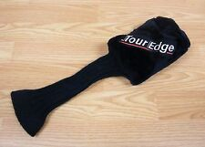 Tour Edge #3 Long Neck Sock Style Fuzzy Golf Club Head Cover Only *Read*