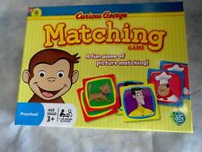 Curious George Matching Game pbs kids brand new