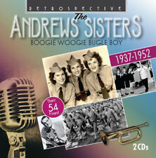The Andrews Sisters : Boogie Woogie Bugle Boy CD (2014) ***NEW***