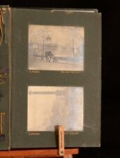 c1912 Photography Album Travels London to Algiers Charles Roux Theodore Mante
