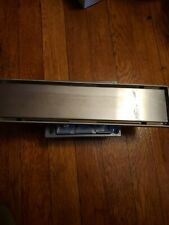 Shower Floor Drain With Tile Insert Grate Brushed Stainless Linear Shower Drain