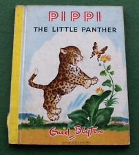 Rare 1952 Pippi the Little Panther picture story book by Enid Blyton