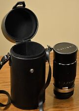 Soligor 200mm F/3.5 Telephoto Lens With Case in EXCELLENT Condition!