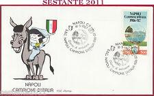 ITALIA FDC ROMA NAPOLI CAMPIONE D'ITALIA 1987 ANNULLO Y156