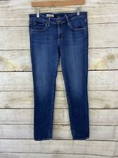 AG Adriano Goldschmied The Stevie Slim Straight Jeans Size 29 Blue