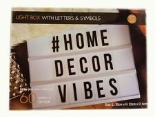 Acrylic Letter Box Decorative Plaques & Signs