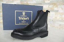 Tricker's 36 3 Bottines chelsea boots bottes chaussure noire neuf