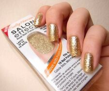 Sally Hansen Salon Effects Real Nail Polish Strips 260 Glitz Bl- NIB