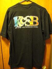 KC & The SUNSHINE BAND ~ XL ~ Vintage ~ 1995- 96 Concert Tour T Shirt