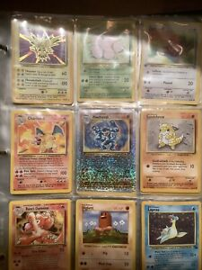 Vintage Pokemon Card Lot 24 Cards (Guaranteed Holo,First Edition, And Rares.)