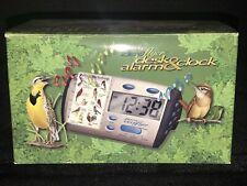 Birdsong Identiflyer Digital Desk Alarm Clock & 9 Song Cards