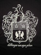 Dillinger Escape Plan, Knight Shield, Cotton, Black, Short Sleeve, Shirt,  YLG
