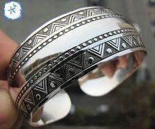 25 style ! Beautiful!Tibetan Tibet Silver Totem Bangle Cuff Bracelet