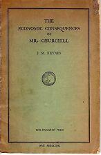 """The Economic Consequences of Mr. Churchill"" by John Maynard Keynes - 1925"