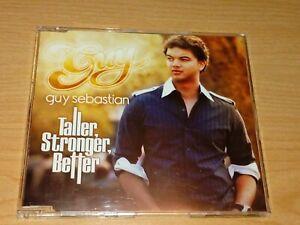 GUY SEBASTIAN TALLER, STRONGER, BETTER CD 2006.