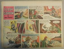 Flash Gordon Sunday Page by Mac Raboy from 7/17/1955 Half Page Size