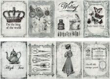 Decoupage-Bastelpapier-Softpapier-Serviettentechnik-Vintage-Shabby-12285