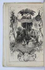 BEAUVOIR — La Cape et l'épée — 1837 — EO Ex. enrichi d'autographes — Nanteuil