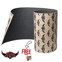 Jessup Griptape Skateboard Grip Tape Sheet, Black