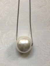 Weekday Giant Faux Pearl Statement Necklace VGC