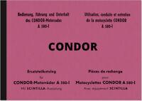 Condor A 580-I Bedienungsanleitung Ersatzteilliste Handbuch Betriebsanleitung