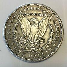 1881 Morgan Dollar.