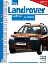 Landrover Freelander Reparaturanleitung Reparaturbuch Handbuch Buch Wartung Book