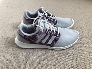 Adidas Cloudfoam size 6 (floral)
