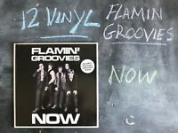 FLAMIN GROOVIES NOW VINYL ALBUM SIRE RECORDS 1978 SRK 7059 ROCK GARAGE ROCK