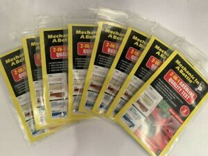Gasoline Quality Test Swabs 3-Pack Fix Bad Gas Mechanic In a Bottle Lot of 8