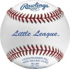 Rawlings, 2 Pack, Official Little League Baseball, Full Grain Leather