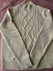 Banana republic wool sweater men S