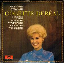 "COLETTE DEREAL ""VALSE DE CAMBRONE"" 60'S 25 CM POLYDOR 45610"