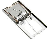 5x Profi Rattenfalle groß Metall Stahl Verzinkt 170mm   Ratte Maus Schlagfalle