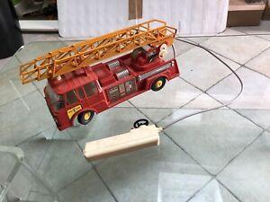 Joustra Camion Pompier Plastique Filoguide